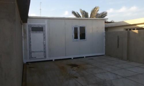 بناء غرف ومنازل السندويج بنل طابقين