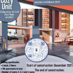 prosperity residence 1+1 ffloor 49.000euro